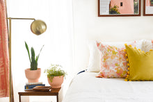 Watercolor Floral Pillow