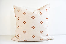 Hmong Block Print Pillow - Ochre