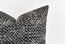 Hmong Block Print Pillow - Black