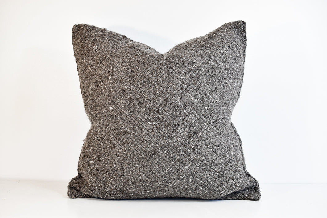 Lora Pillow - Charcoal