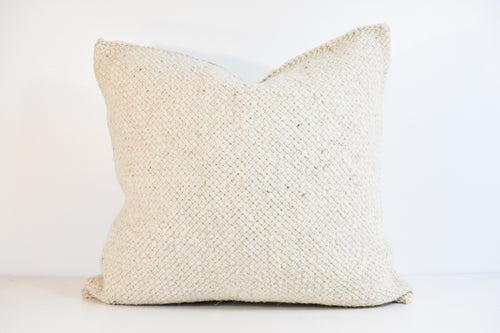 Large Lora Pillow - Cream