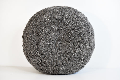 Mara Pillow - Charcoal