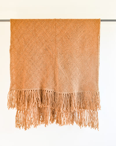 Fama Fringe Throw - Spice