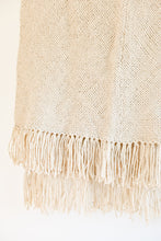 Fama Fringe Throw - Cream