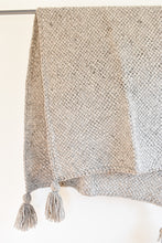 Tucu Tassel Throw - Gray
