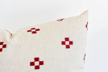 Hmong Block Print Pillow - Rust