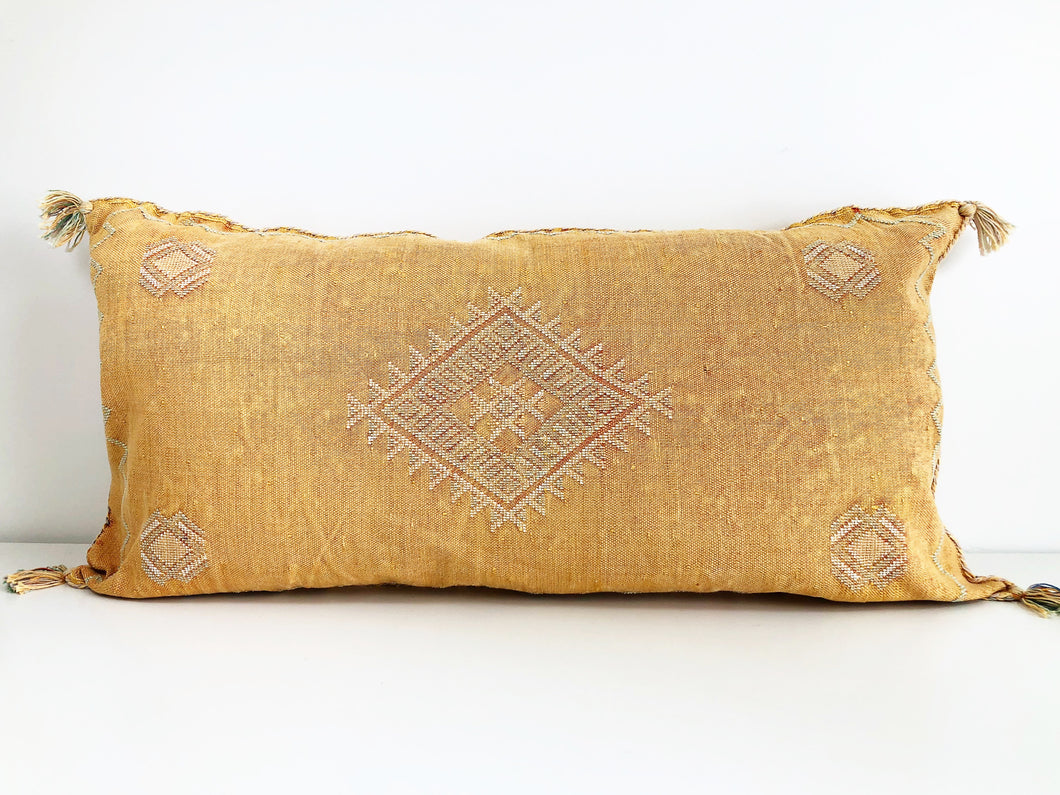 Double Long Sabra Silk Pillow