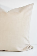 Velvet Pillow - Buckwheat
