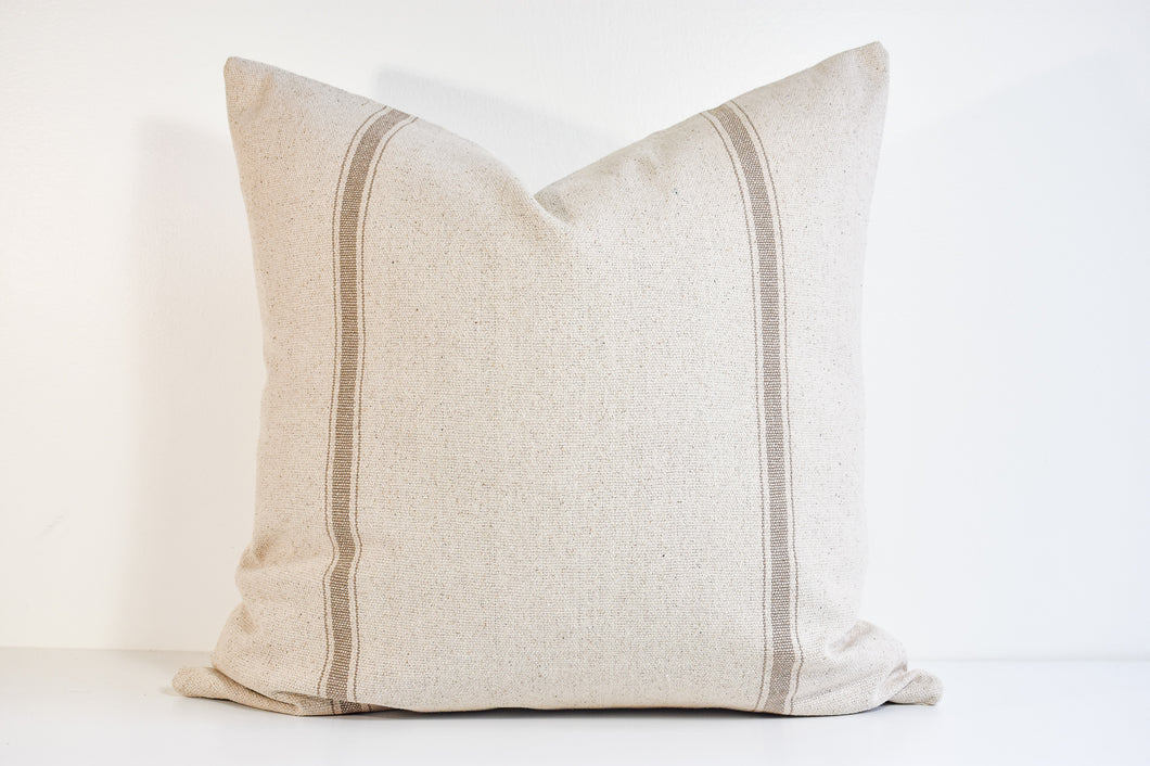 Grain Sack Pillow - Earth