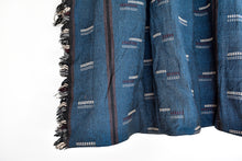Hmong Indigo Tassel Throw