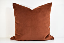 Velvet Pillow - Burnt Orange