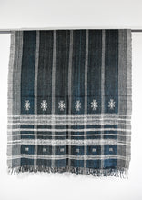 Indian Bhujodi Throw- Deep Indigo