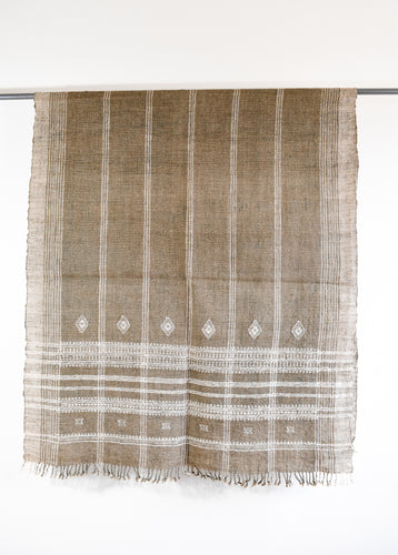 Indian Bhujodi Throw- Sand