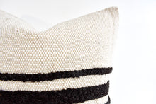 Large Lora Striped Pillow - Cream