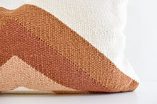 Damini Lumbar Pillow - Rust