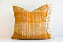 Indian Bhujodi Pillow - Gold