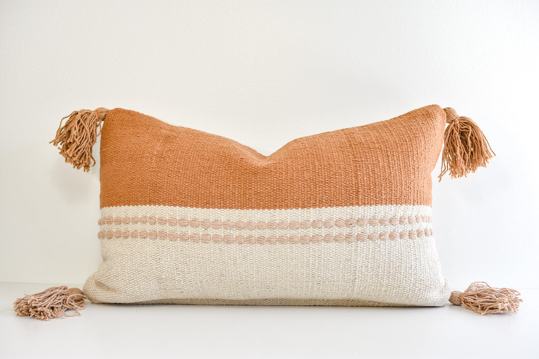 Jana Lumbar Pillow - Sand