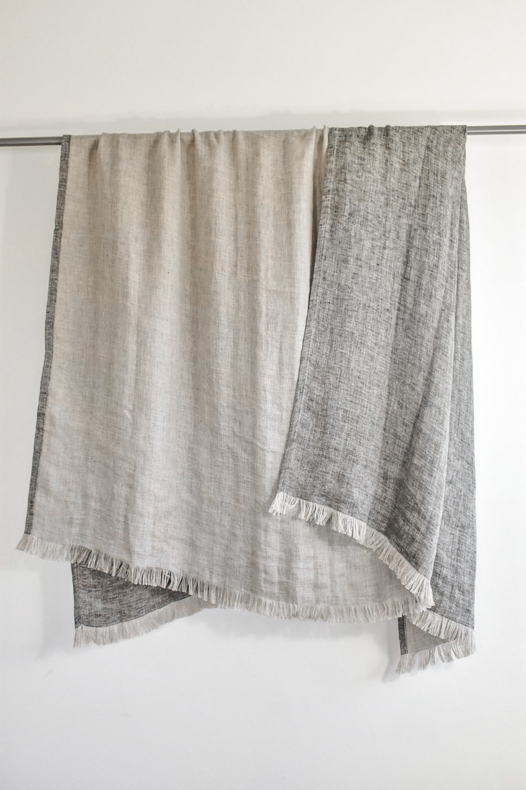 Linen Double Sided Throw