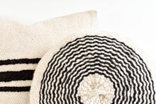 Mara Striped Pillow - Cream