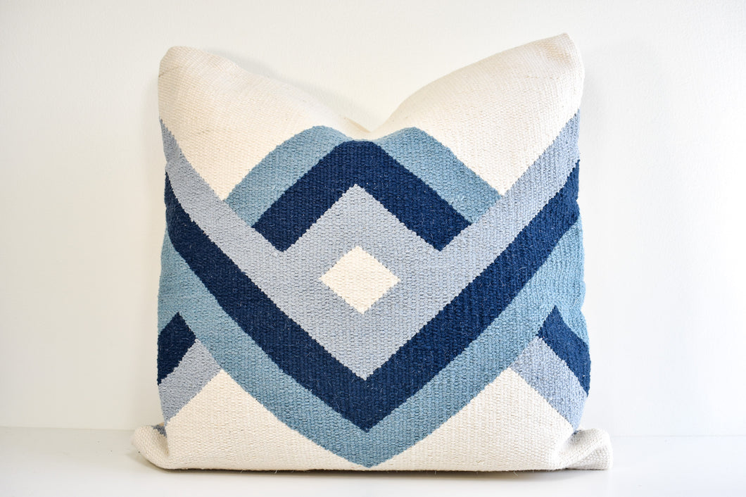 Damini Pillow - Indigo