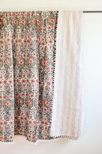 Pom Pom Kantha Quilt - King/Queen Sized