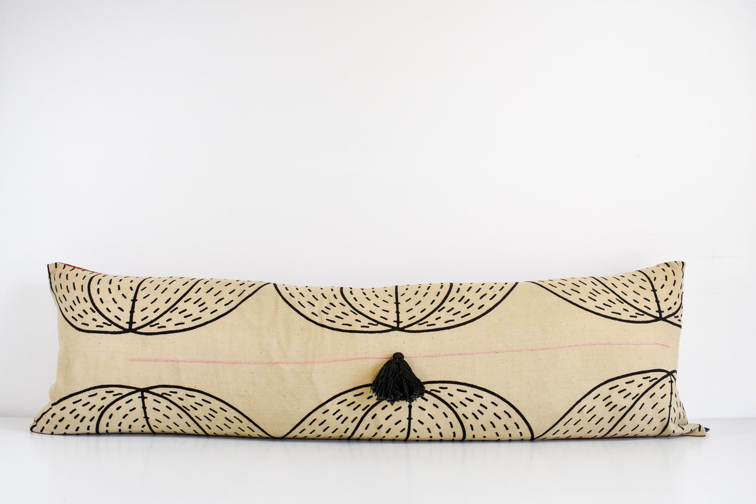 Pumpkin Double Long Lumbar Pillow