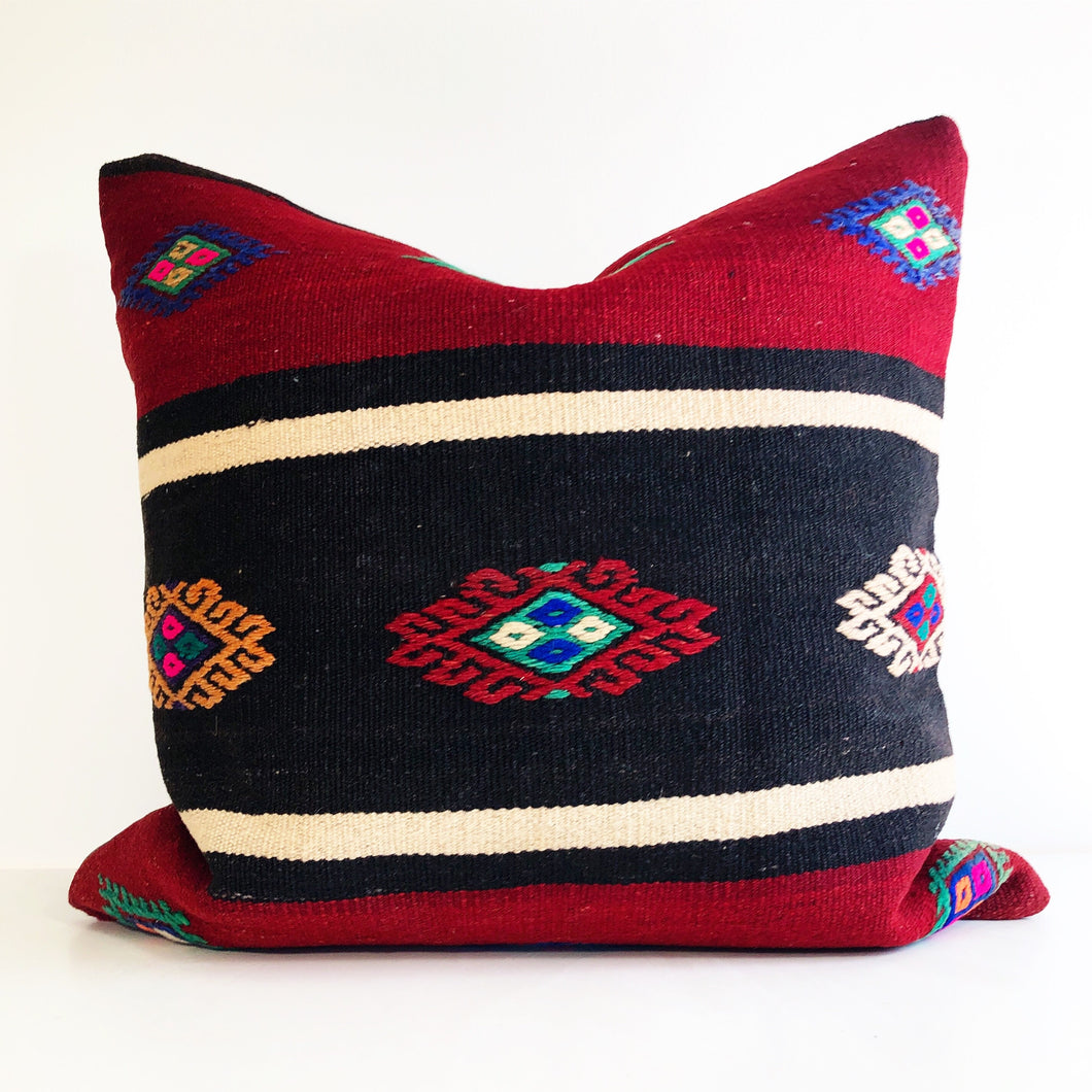 Turkish Kilim Pillow - Large