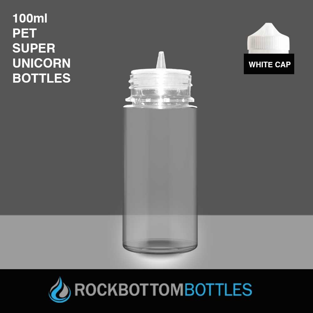 100ml Super Unicorns - Rock Bottom Bottles / Packaging Company LLC