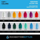 10mL - PET Plastic Bottle - Rock Bottom Bottles / Packaging Company LLC