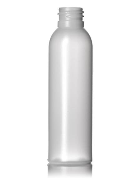 2oz 24-410 Natural HDPE Cosmo Bottles - Cased 1000 - Rock Bottom Bottles / Packaging Company LLC