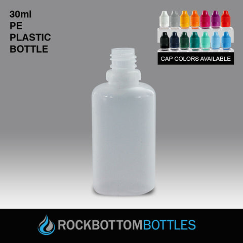 30mL - PE Plastic Bottle