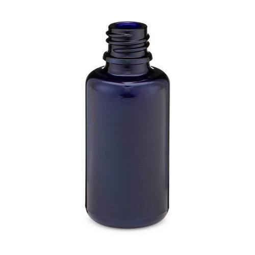 30ml Black (Violet) Glasswork boston Round Bottle - CASED 88 - Rock Bottom Bottles / Packaging Company LLC