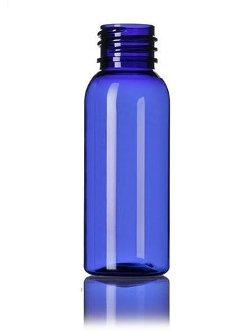 30ml Cobalt Blue PET bottle with 20/410 neck - Cased 1500 - Rock Bottom Bottles / Packaging Company LLC