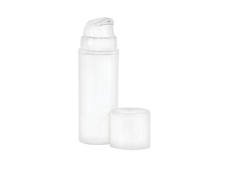 30ml Matte White Airless Pump 32mm Snap-On Cased 1470 - Rock Bottom Bottles / Packaging Company LLC
