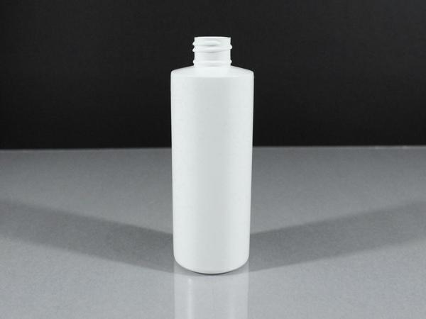 4 oz CYLINDER 20/410 NAT HDPE BOTTLE Cased 900 - Rock Bottom Bottles / Packaging Company LLC