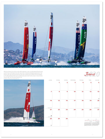 June 2020 Ultimate Sailing Calendar