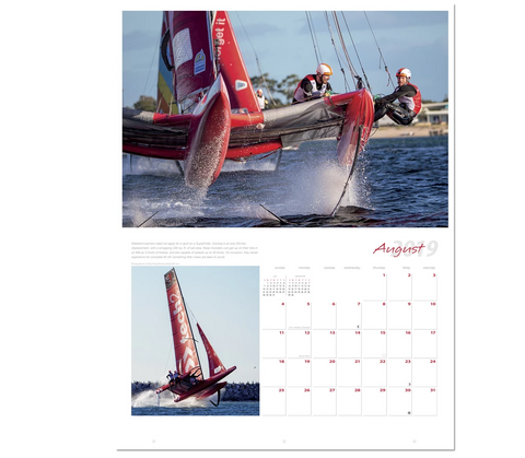 July 2019 Ultimate Sailing Calendar