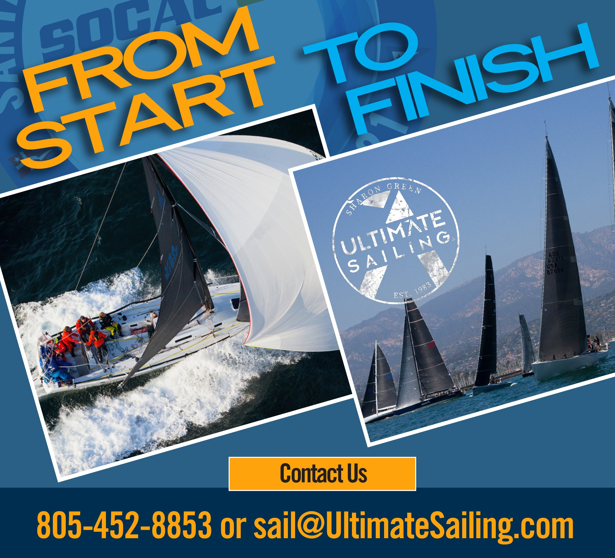 Ultimate Sailing Socal photo coverage 2021