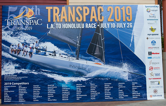 Transpac entrants