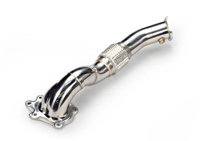 TR Long Widemouth Downpipe for Mitsubishi Evolution X