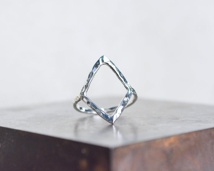 Diamond Shape Stacking Ring