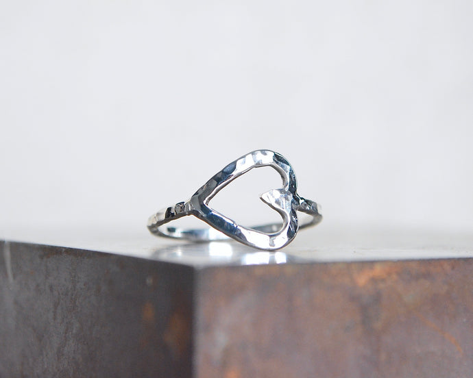 Heart Stacking Ring