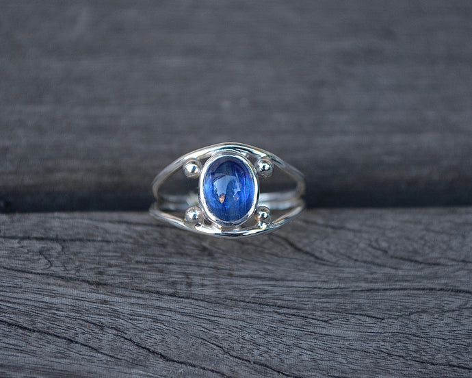 Four Points Ring Kyanite // Size 7
