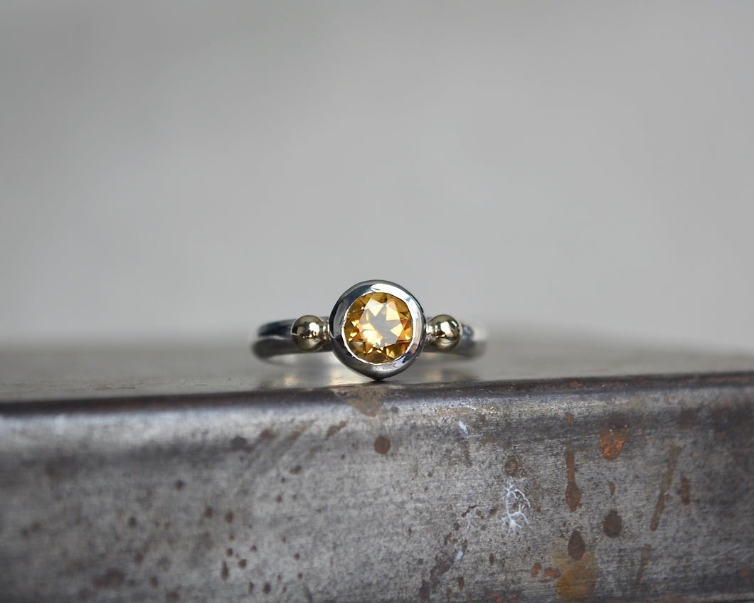 Citrine Empress Ring // Made to Order