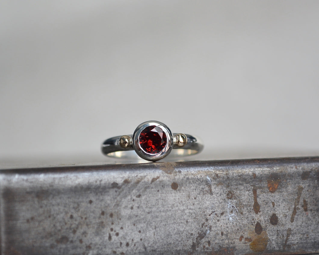 Garnet Empress Ring // Made to Order