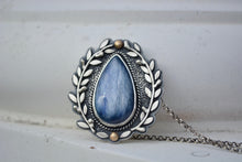 Kyanite Olive Branch Necklace