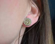 Bullet Post Earrings