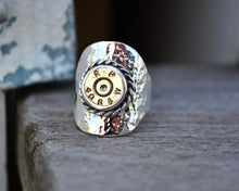 Bullet Saddle Ring // Size 8.25