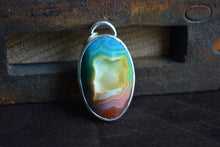 Rainbow Druzy Necklace // Stone 3