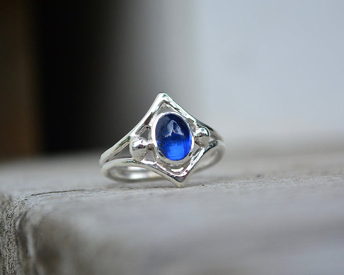 Kyanite Ascension Ring // Size 7.75